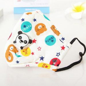 Gesichtsmaske für Kinder in Weiß