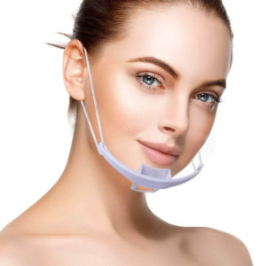 Mund und Nasen Visier - Premium Qualität