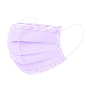 Mund und Nasenschutz - violett