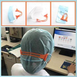 Masken Clip aus weichem Silikon