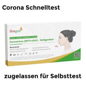 Hotgen Corona Schnelltest für Laien zugelassen
