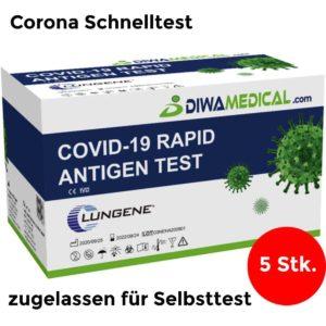 Clungene COVID Antigen Schnelltest