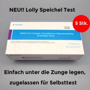 Watmind Antigen Speichel Lolly Test für Laien zugelassen