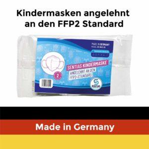 Sentias Kindermasken angelehnt an FFP2 Standard